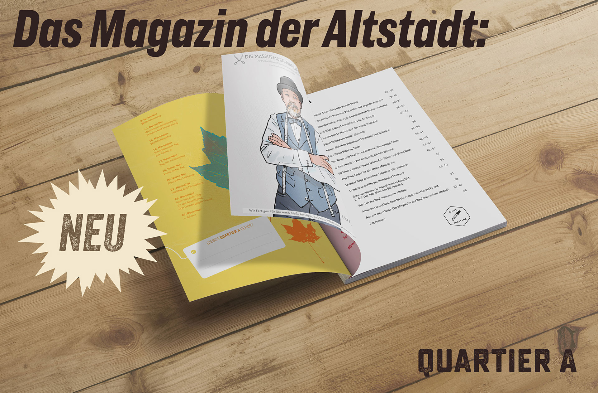 Quartier A Magazin 5
